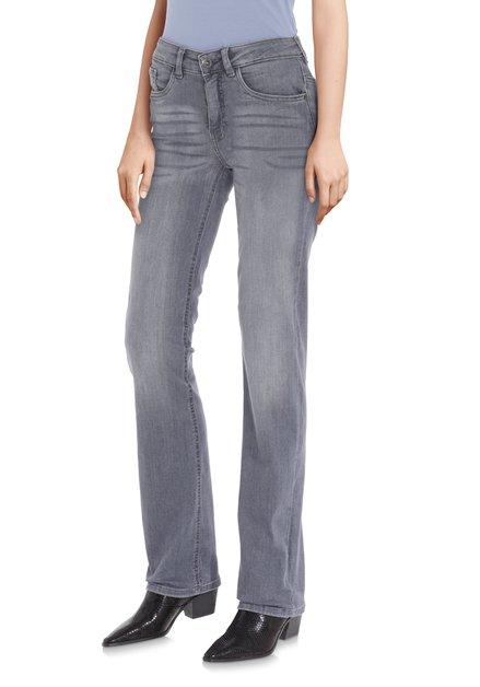 Antraciet jeans - Bridget - straight fit