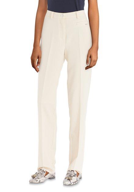 Beige geklede broek – straight fit