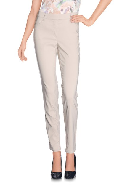 Beige legging met stretch