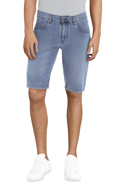 Bermuda bleu en jean