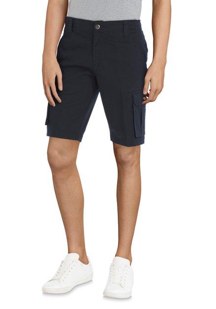 Bermuda bleu foncé avec poches