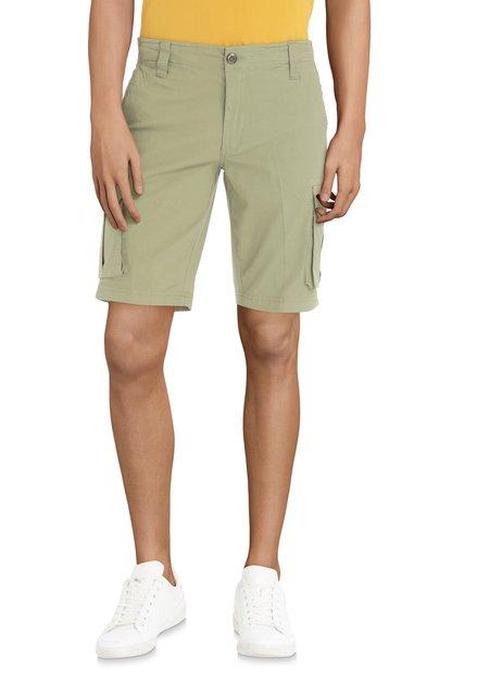 Bermuda vert avec poches