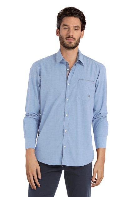 Blauw hemd – modern fit