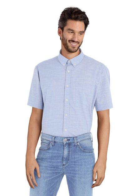 Blauw hemd - Carlos – comfort fit