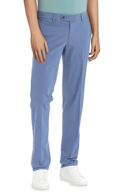 Blauwe chino – Louisiana – regular – fit