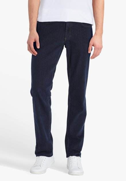 Blauwe denim Jackson - regular fit