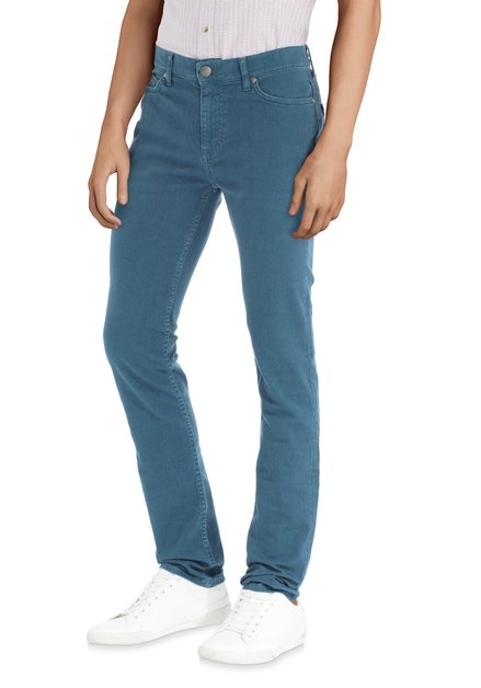 Blauwe denim - slim fit