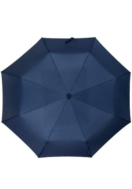 Blauwe opvouwbare paraplu miniMax