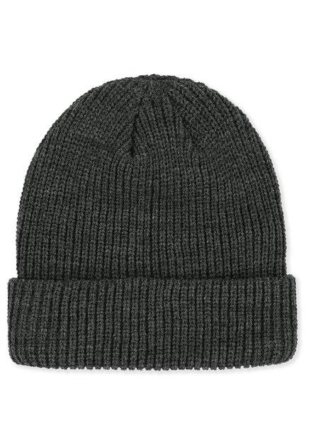 Bonnet gris foncé en tricot