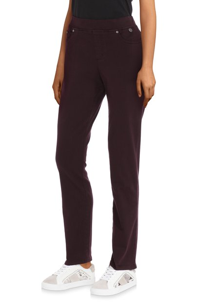 Bordeaux 7/8ste stretchbroek – slim fit