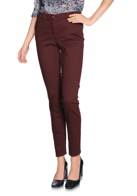 Bordeaux broek - slim fit
