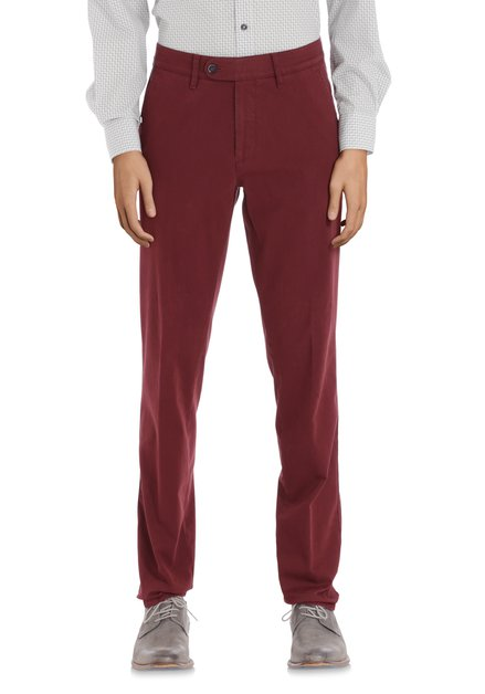 Bordeaux chino - regular fit