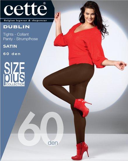 Bruine panty Dublin Ristretto - 60 den