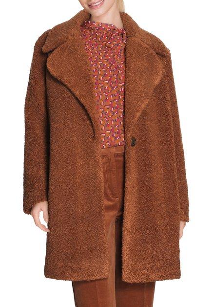 Bruine teddy mantel
