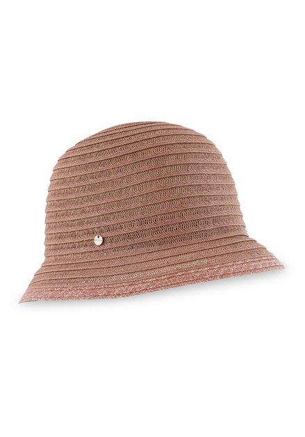 Chapeau d'été rose