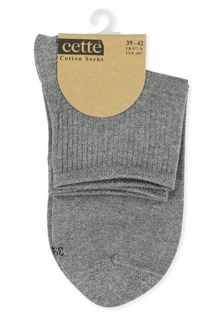 Chaussettes grises à paillettes