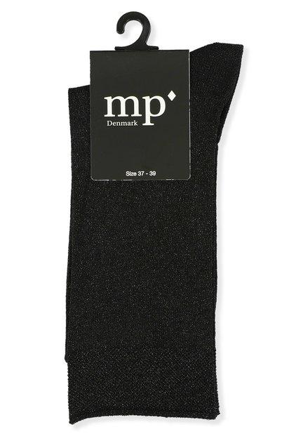 Chaussettes noires pailletées