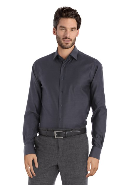 Chemise anthracite – slim fit