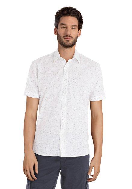 Chemise blanche avec imprimé ananas
