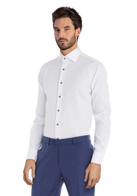 Chemise blanche avec texture - Slim fit