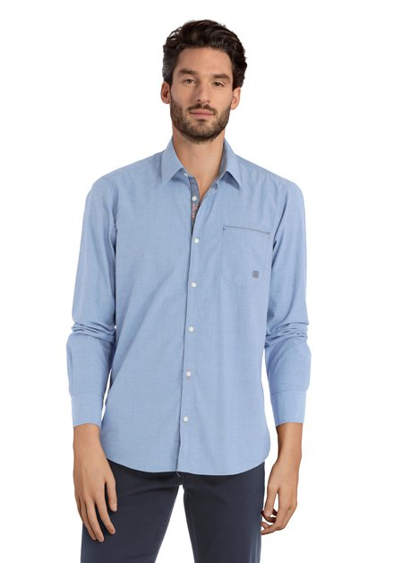 Chemise bleue – modern fit