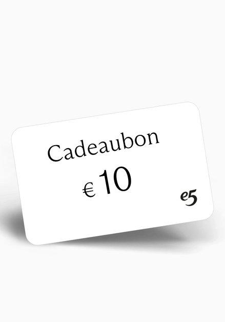 Chèque-cadeau 10 EUR