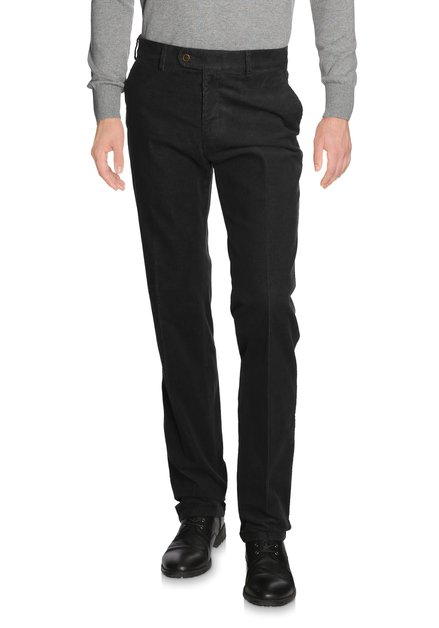 Chino gris en velours - Vancouver - regular fit
