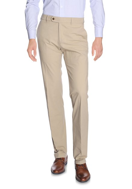 Chino léger beige Vancouver - Regular fit