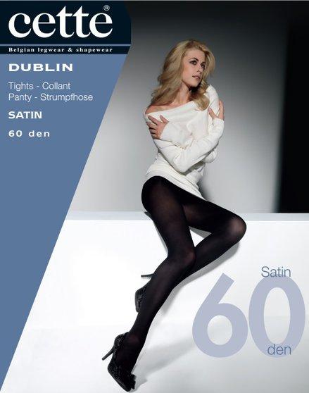 Collant Dublin Satin 60 den - bleu/noir
