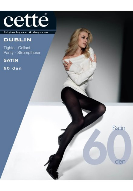 Collant Dublin Satin 60 den - ristretto