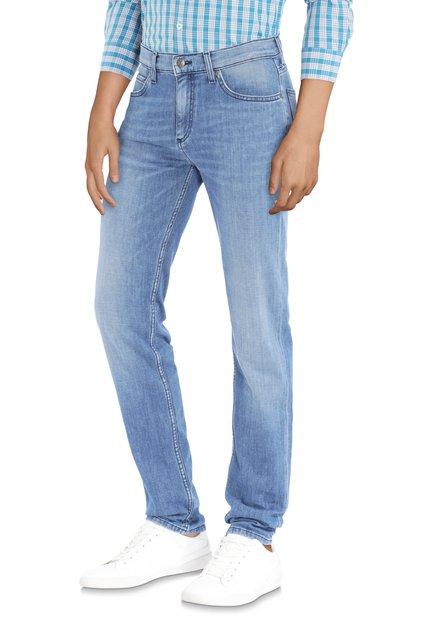 Denim bleu délavé - straight fit
