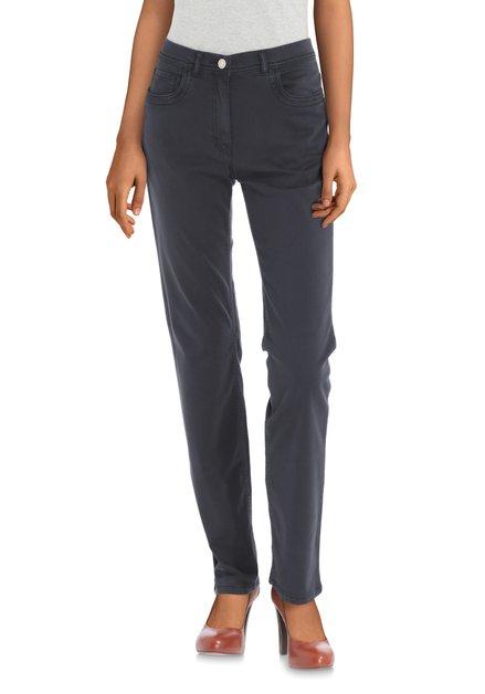 Donkerblauwe broek – Gina – straight fit