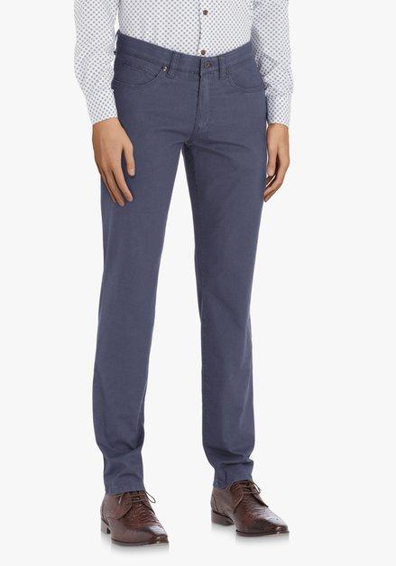 Donkerblauwe broek – straight fit
