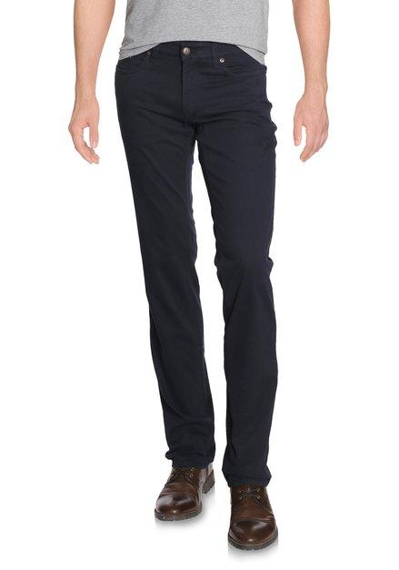 Donkerblauwe broek - Jackson - regular fit