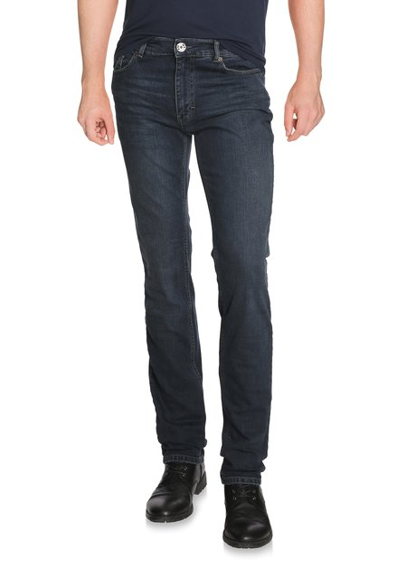 Donkerblauwe denim - slim fit