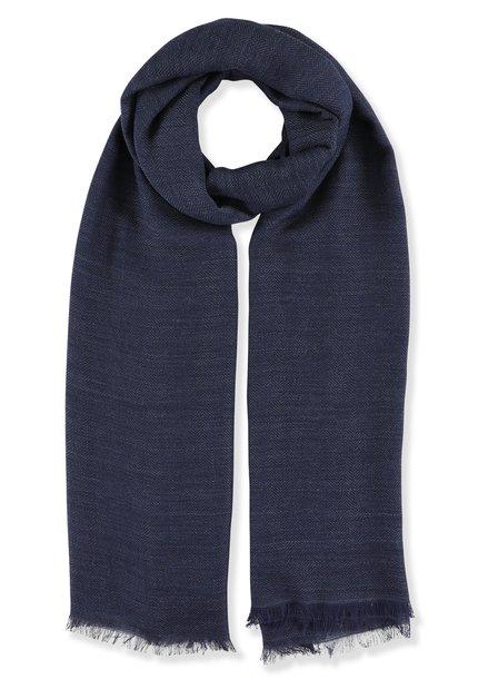 Donkerblauwe foulard