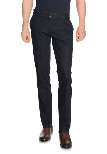 Donkerblauwe jeans – Louisiana – regular fit