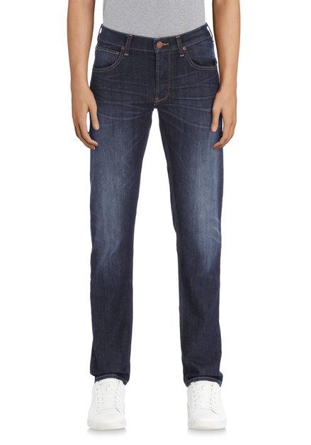 Donkerblauwe jeans - Daren - regular fit - L32