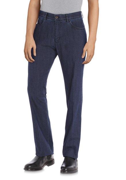Donkerblauwe jeans - Detroit - regular fit