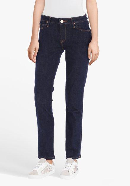 Donkerblauwe jeans - Elly - slim fit - L31