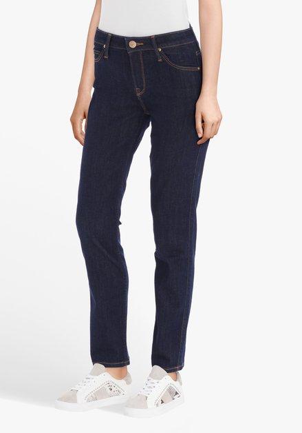 Donkerblauwe jeans - Elly - slim fit - L33