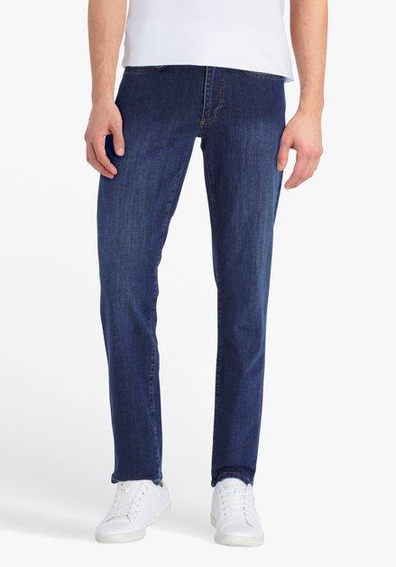 Donkerblauwe jeans - Jan - comfort fit - L30