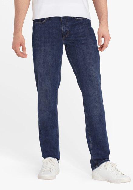 Donkerblauwe jeans - Lars - slim fit - L34