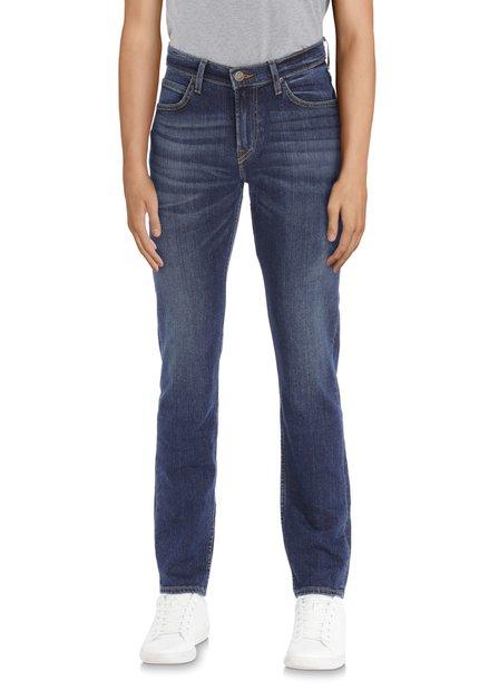 Donkerblauwe jeans - Rider - slim fit - L32