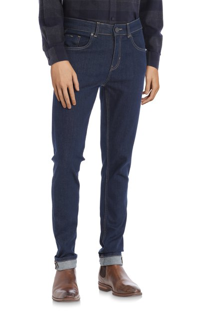 Donkerblauwe jeans - slim fit- L32