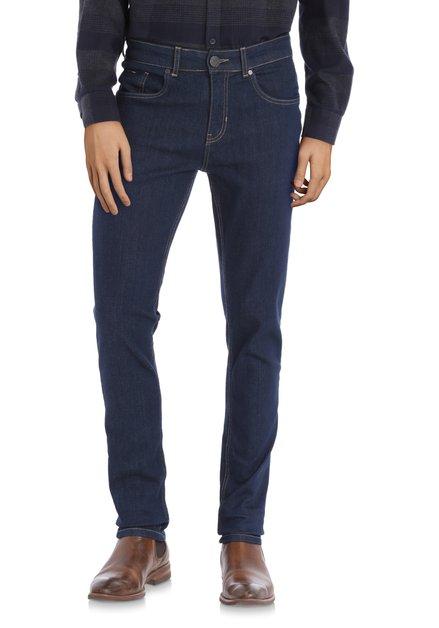Donkerblauwe jeans - slim fit - L34