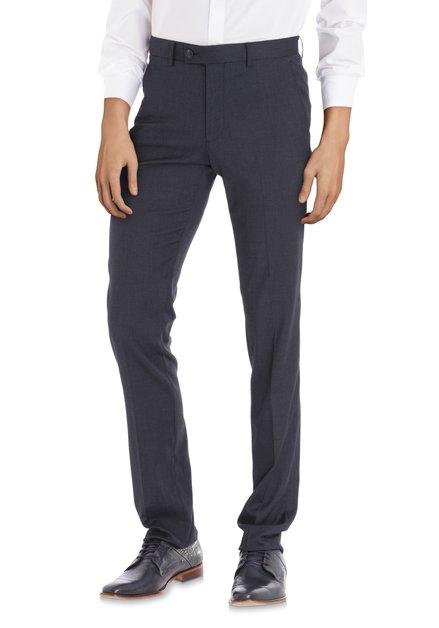 Donkerblauwe kostuumbroek - Iowa - slim fit