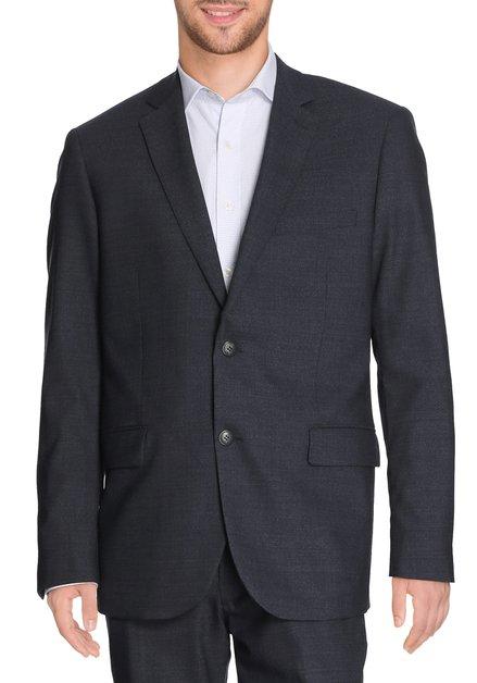 Donkerblauwe kostuumvest met spikkel - Oslo
