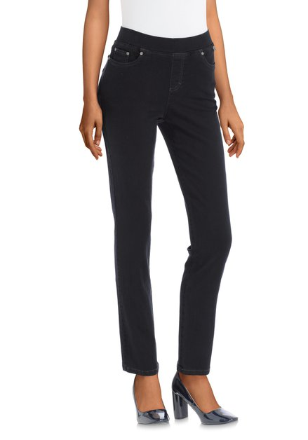 Donkerblauwe legging – Angelika - slim fit