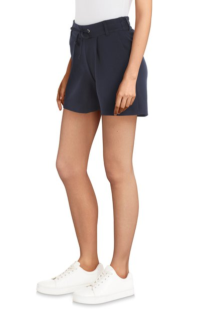 Donkerblauwe short